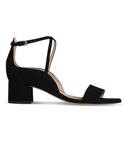 LK BENNETT Dina block heel sandal (Bla-black