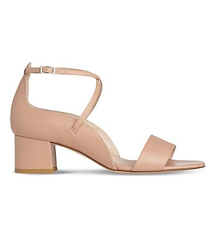 LK BENNETT Dina block heel sandal (Bei-trench