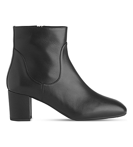 LK BENNETT Simi leather ankle boots (Bla-black