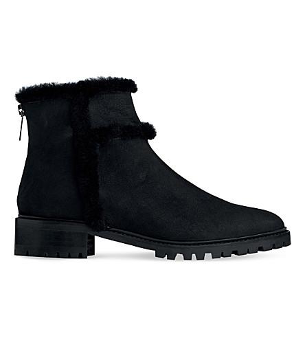 LK BENNETT Thomasine nubuck ankle boots