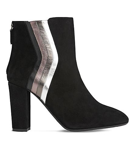 LK BENNETT Serafina suede ankle boots (Mul-black