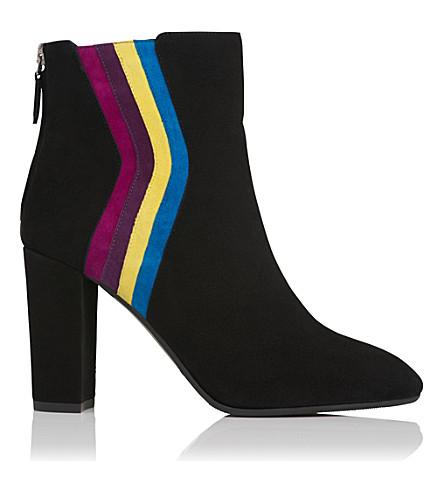 LK BENNETT Serafina suede ankle boots (Mul-multi