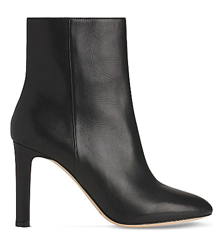 LK BENNETT Edelle leather ankle boots (Bla-black