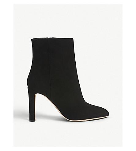 LK BENNETT Edelle suede ankle boots (Bla-black
