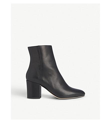 LK BENNETT Jourdan leather ankle boots (Bla-black