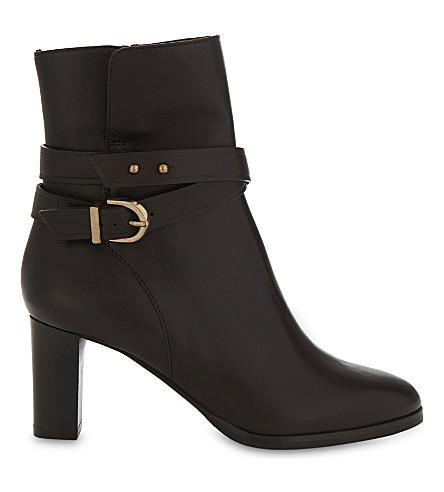 LK BENNETT Josie leather ankle boots (Bro-chocolate