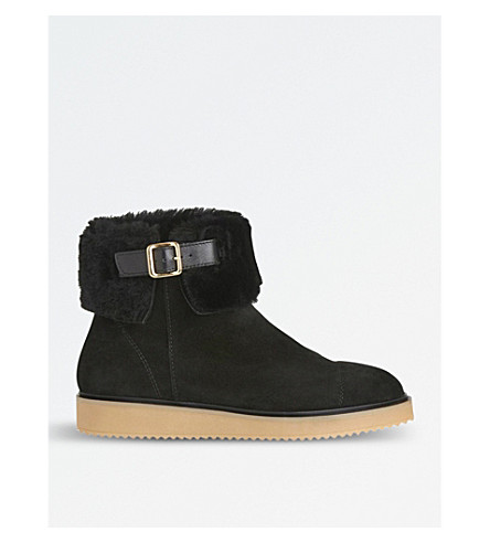 LK BENNETT Maci suede ankle boots