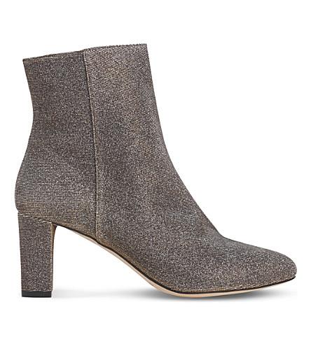 LK BENNETT Leelah metallic ankle boots (Met-bronze
