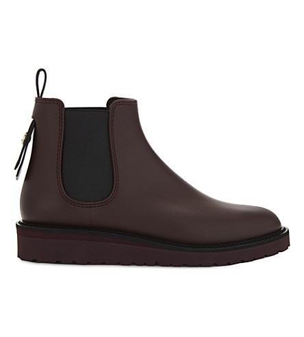 LK BENNETT Skye Chelsea boots (Red-oxblood