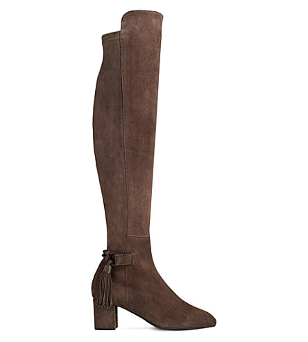 lk camille suede the knee boots