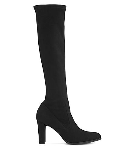 lk marietta knee high suede boots selfridges