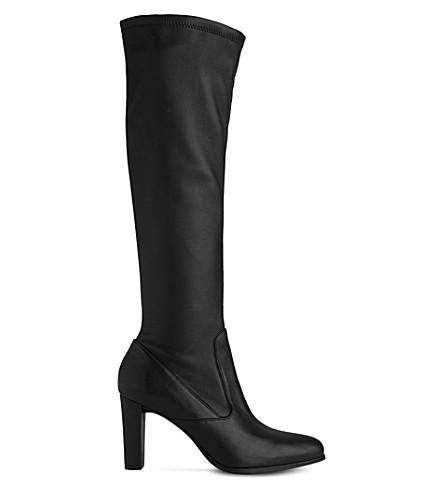 LK BENNETT Marietta knee-high leather boots (Bla-black