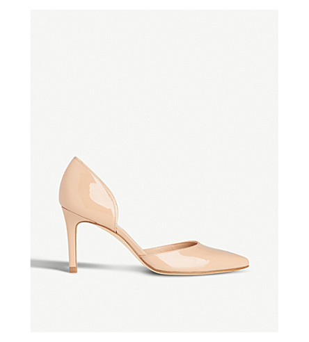 LK BENNETT Flossie patent-leather courts (Bei-trench