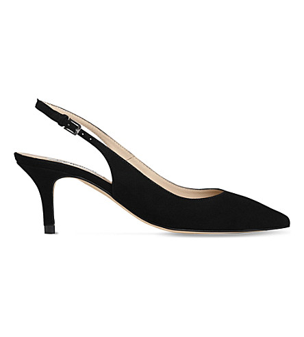 LK BENNETT Selena strappy leather sandals (Bla-black