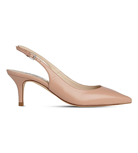 LK BENNETT Florita patent leather slingback courts (Bei-trench