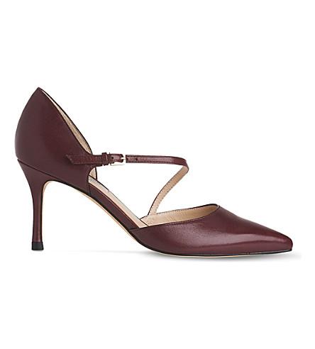 LK BENNETT Alix open court heels (Bla-black