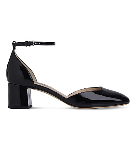 LK BENNETT Andrea patent leather courts (Bla-black