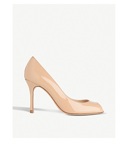 LK BENNETT Margo patent-leather courts (Bei-trench