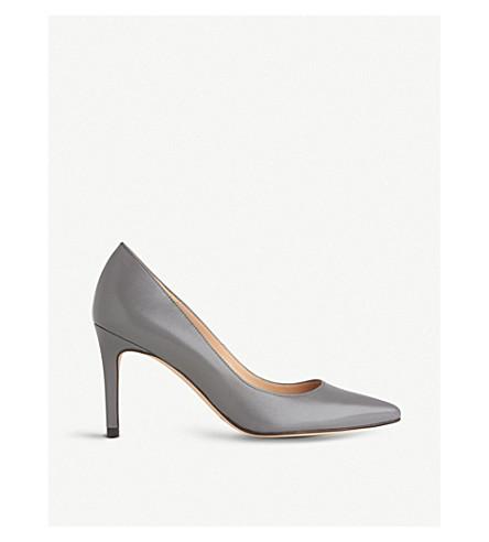 LK BENNETT Floret leather courts (Gry-warm+grey