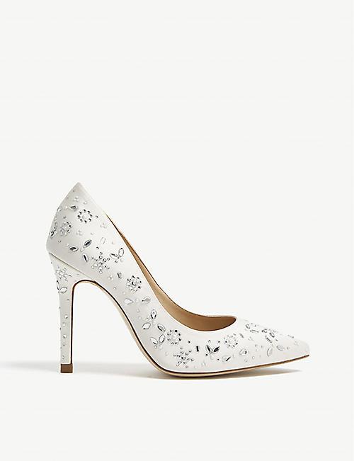 750dcdb21e4 LK BENNETT Jenny Packham embellished Fern heeled courts