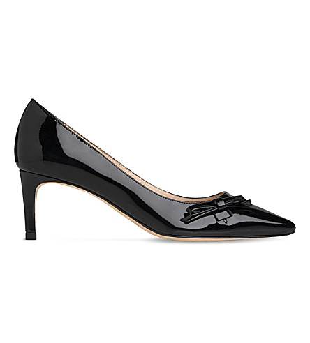 LK BENNETT Berenice leather courts (Bla-black