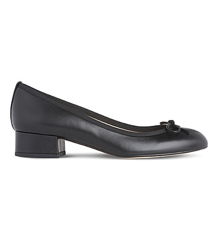 LK BENNETT Danielle leather ballet courts (Bla-black