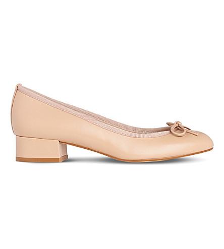 LK BENNETT Danielle leather ballet courts (Bei-trench