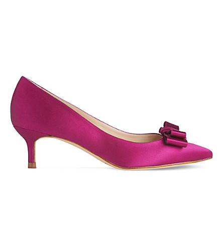 LK BENNETT Esme satin court shoes (Pin-fuchsia