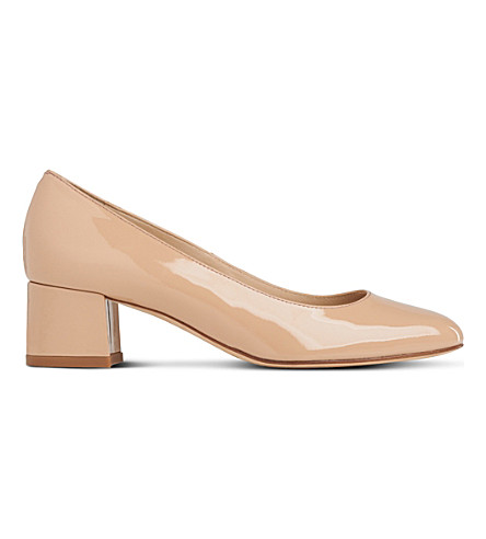 LK BENNETT Maisy patent-leather courts (Bei-trench