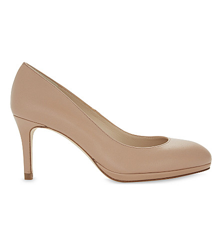 LK BENNETT Sybila leather platform courts (Bei-trench