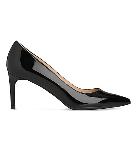 LK BENNETT Caisie patent leather courts (Bla-black
