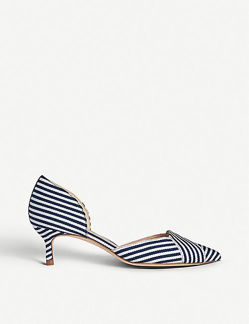 504f6ff14d0 LK BENNETT Steph leather court shoes