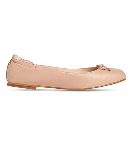 LK BENNETT Thea nappa leather ballerina flats (Bei-trench