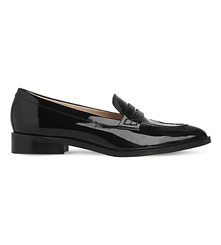 LK BENNETT Iona leather loafers (Bla-black