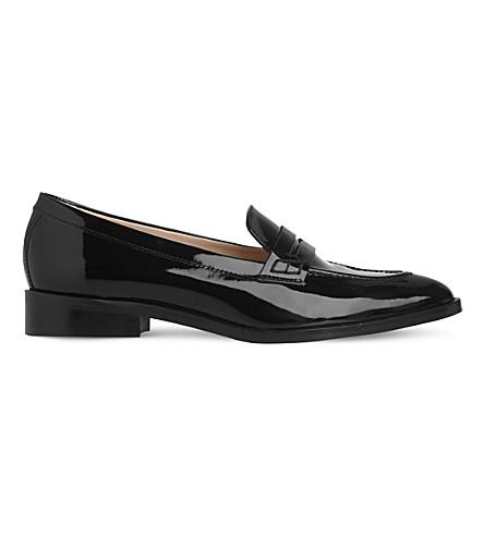 LK BENNETT Iona leather loafers (Bla-black