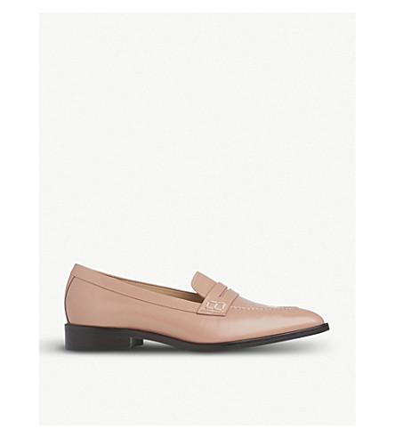 Cheap Sale Footaction LK BENNETT Iona leather penny loafers Pin-old rose Outlet Online Outlet Best Seller Pre Order Sale Online qT49QksW4