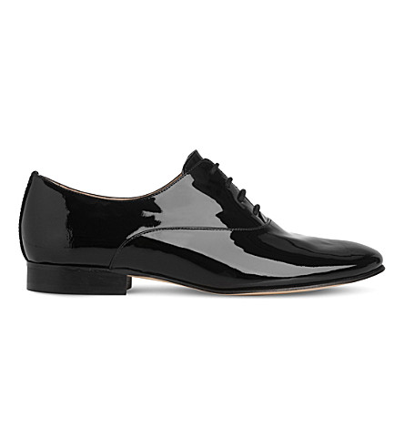 LK BENNETT Isabelle patent leather oxfords (Bla-black