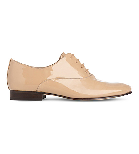 LK BENNETT Isabelle patent leather oxfords (Bei-trench