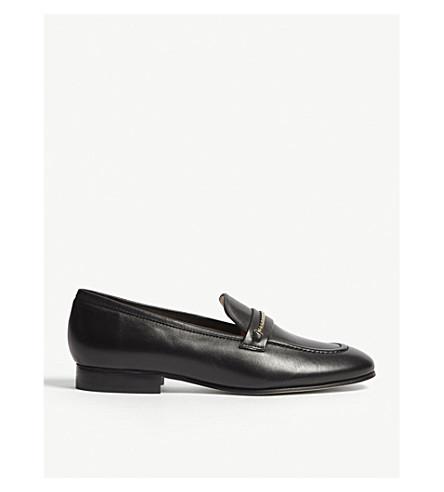 LK BENNETT Stevie leather loafers (Bla-black