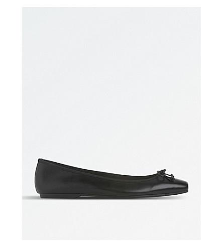 LK BENNETT Bia travel ballet shoe (Bla-black