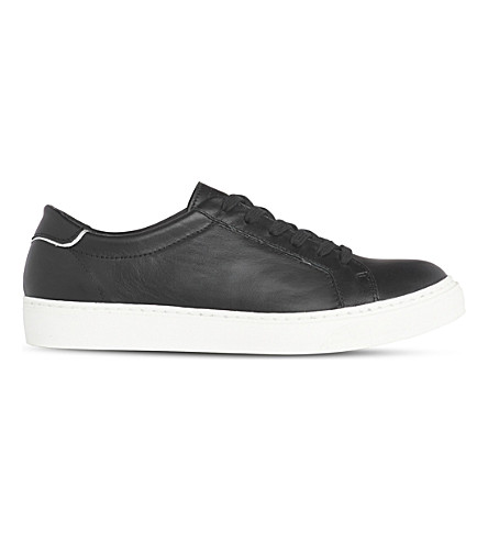 LK BENNETT Reese leather trainers (Bla-black