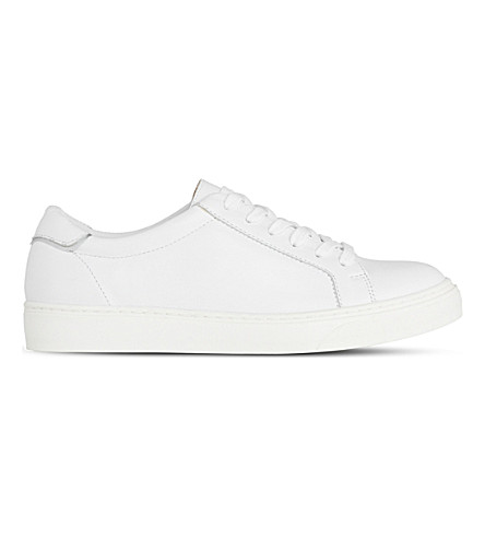 LK BENNETT Reese leather traienrs (Whi-white