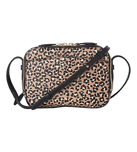 LK BENNETT Mariel leather cross-body bag (Pri-animal