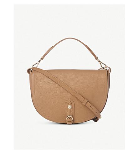 LK BENNETT Andrea leather shoulder bag (Bro-light+tan
