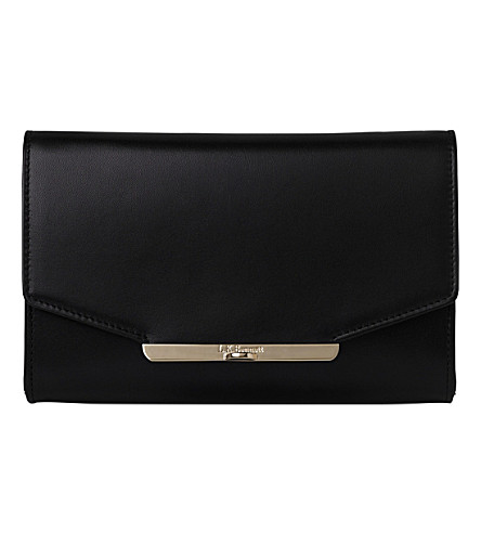 LK BENNETT Zadie leather shoulder bag (Bla-black