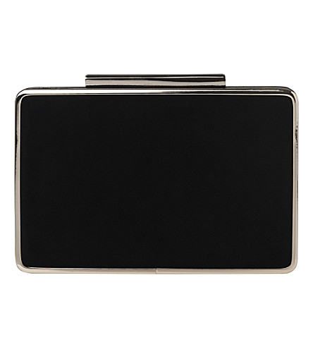 LK BENNETT Nina box clutch (Bla-black