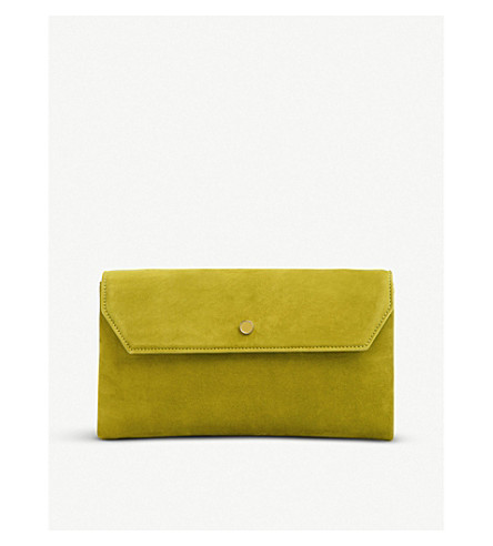 DORA SUEDE ENVELOPE CLUTCH