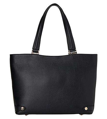 LK BENNETT Roberta leather tote (Bla-black