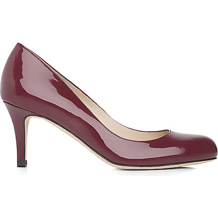 LK BENNETT Sabira leather courts (Bordeuaux