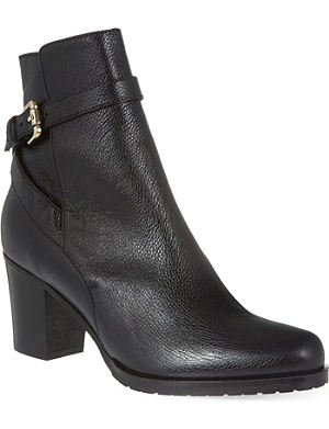 LK BENNETT Aleena lugged sole ankle boots